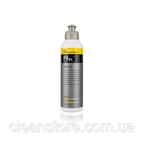 Fine Cut F6.01 - мелкозернистая абразивная полировальная паста, 250 мл., фото 2