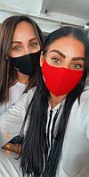 Стильная тканевая трехслойная маска, фото 1