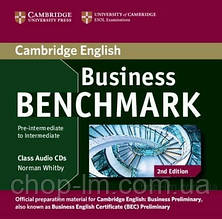 Business Benchmark 2nd Edition Pre-Intermediate/Intermediate Business Preliminary Class Audio CDs / Аудио диск