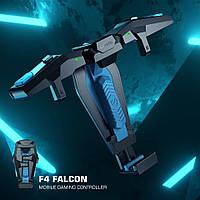 Геймпад GameSir F4 Falcon курки триггеры джойстик на Android и iOS для PUBGmobile Call of Duty FreeFire