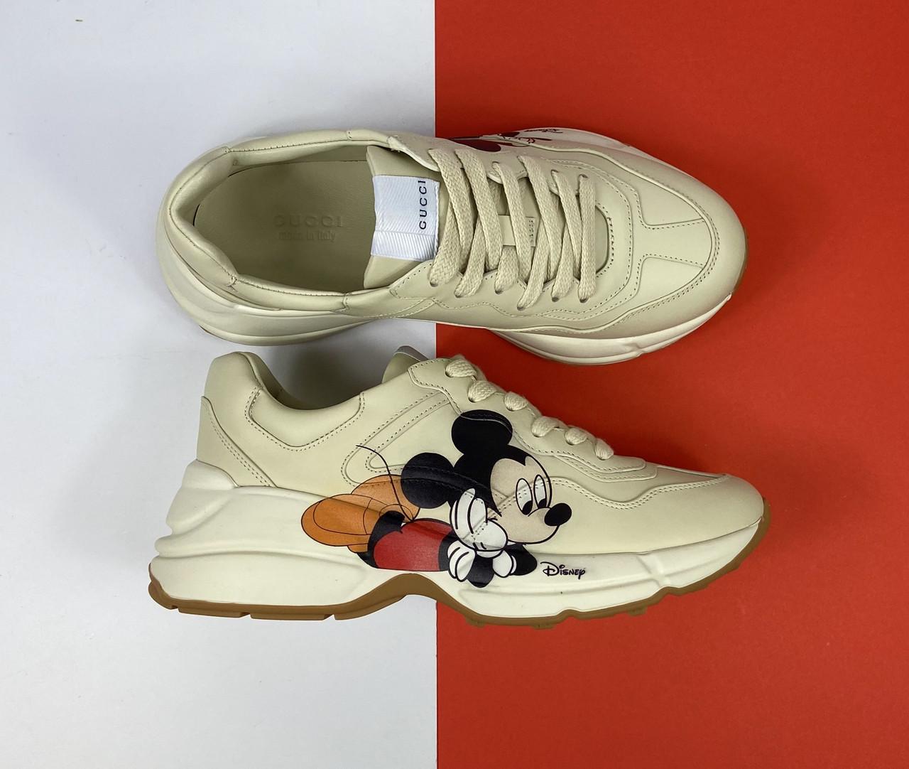 Кроссовки Rhyton Disney Gucci арт. 56-47