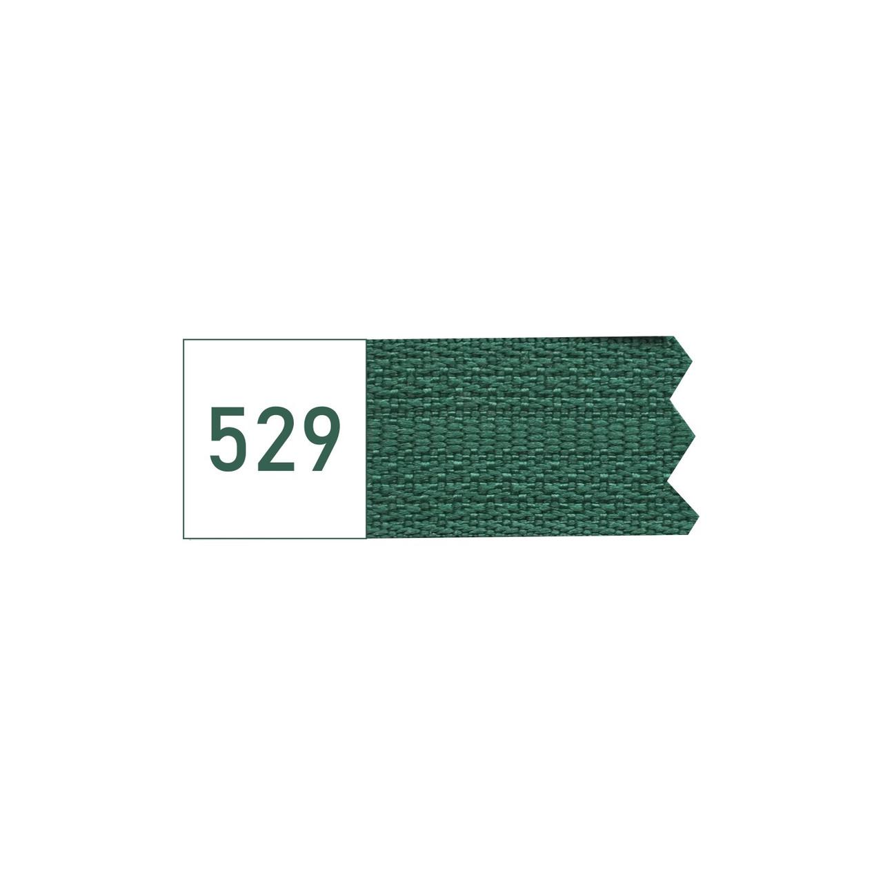 Спіральна блискавка №5 рулонна S-529 зелений темний (рул 200м) ZIP