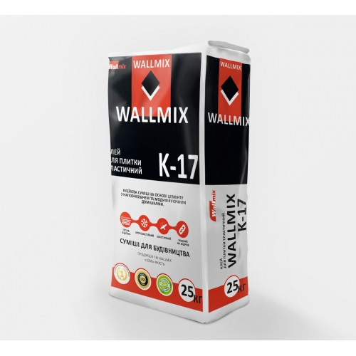 Wallmix K17 Клей для плитки эластичный