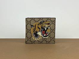 Бумажник Gucci GG Supreme с принтом в виде тигра (Гуччи) арт. 33-02