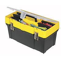 """Ящик для инструментов пластиковый Stanley """"Classic"""" 19"""" с органайзером (1-93-285)"""