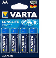 Батарейка Varta Longlife Power 4906 (High Energy) AA/LR06 BL 4шт