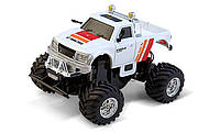 Машинка на радиоуправлении Джип 1:58 Great Wall Toys 2207 (бело-красный, 40MHz)