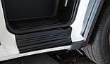 Пластикові захисні накладки на пороги для Fiat Ducato II 2006-2020, фото 6