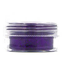 Глиттер для декора ногтей в баночке, цвет Фиолетовый