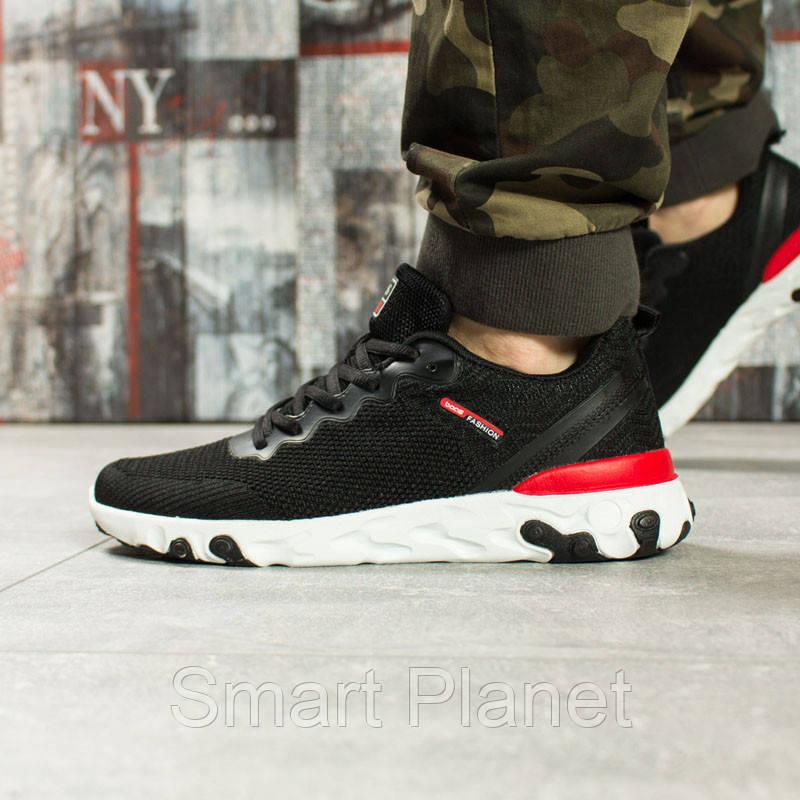 Кроссовки мужские 10011, BaaS Fashion, черные, < 43 44 > р. 43-27,8см.