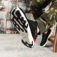 Кроссовки мужские 10011, BaaS Fashion, черные, < 43 44 > р. 43-27,8см., фото 3
