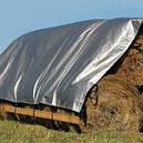 Тент тарпаулин Польша 6х8м,160г/м2 (супер мощный с люверсами), фото 4