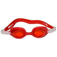 Окуляри для плавання дорослі SEL-1110-4. Колір рожевий.
