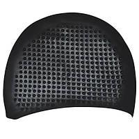 Шапочка для плавания на длинные волосы GP-006-black