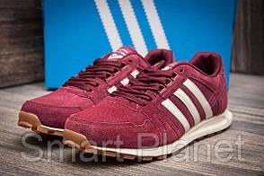 Кроссовки мужские 11302, Adidas, бордовые, < 44 > р. 44-28,6см.