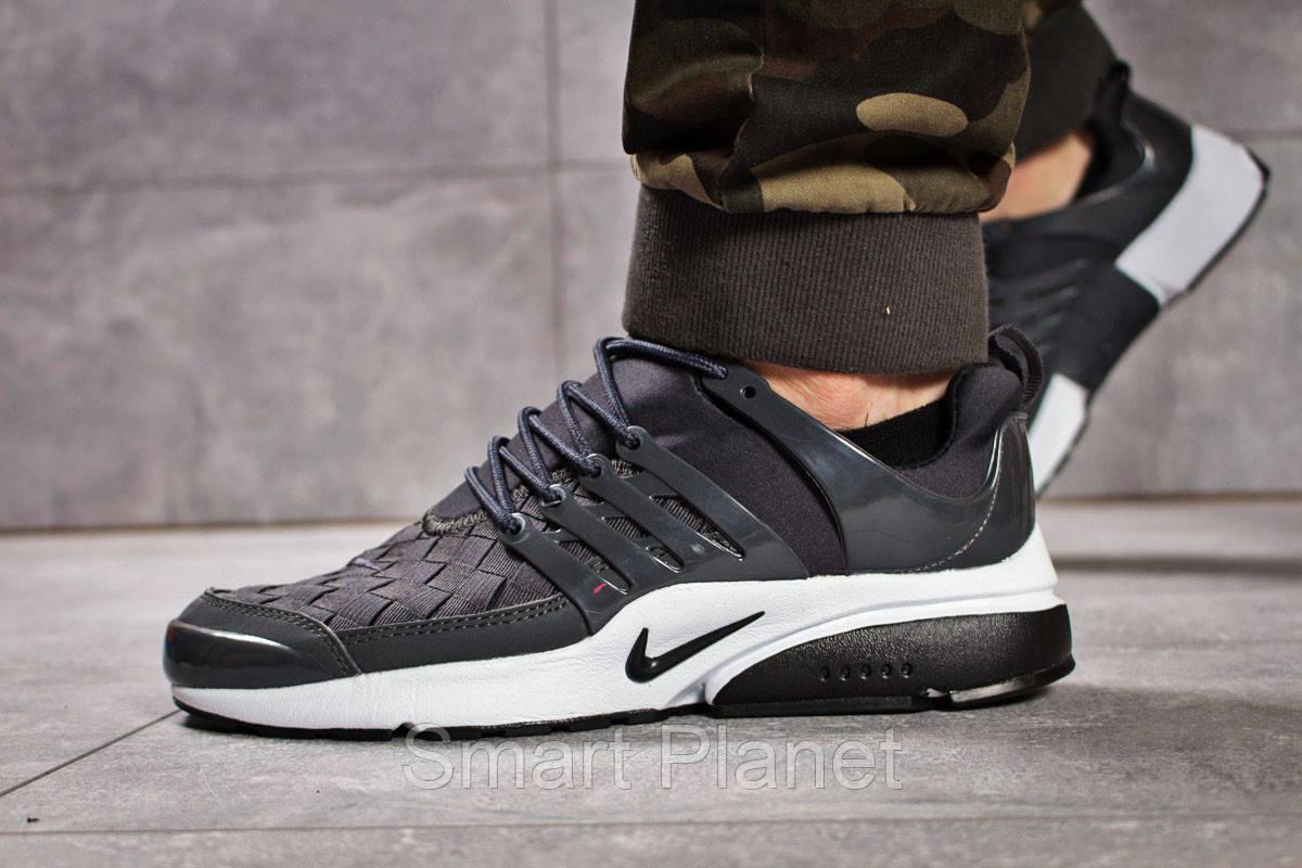 Кроссовки мужские 13077, Nike Air Presto BRS 1000, темно-серые, < 42 > р. 42-26,6см.