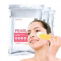 Моделирующая альгинатная маска с порошком жемчуга lindsay premium pearl modeling mask
