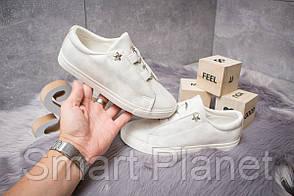 Кроссовки женские 14292, Ideal White, белые, < 36 > р. 36-22,3см.