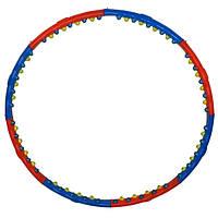 Обруч массажный Hula Hoop DOUBLE GRACE MAGNETIC