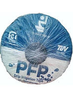 Лента для капельного полива PEP эмиттерная 20 см 8 mill (бухта 1500 м)