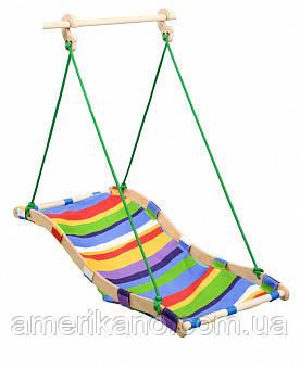 Дитяча гойдалка-гамак для будинку або двору