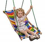 Дитяча гойдалка-гамак для будинку або двору, фото 3