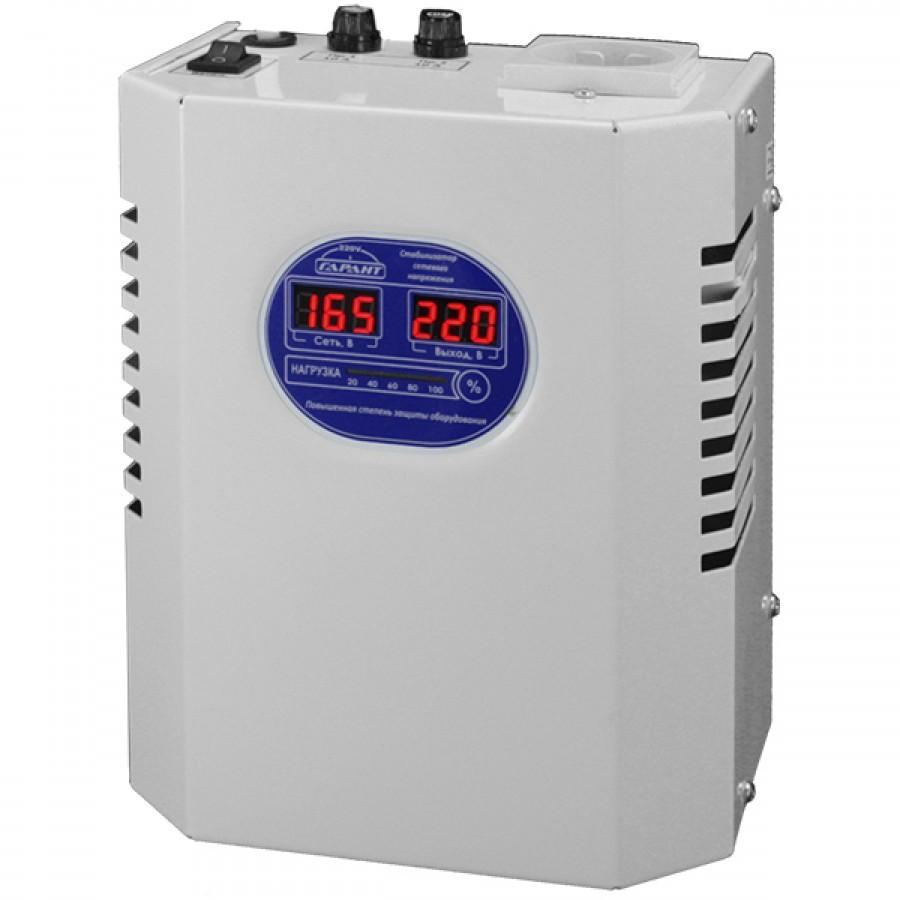 """Стабилизатор напряжения для бытовых устройств СН 1200 """"ГАРАНТ"""" 220V.1,2кВт."""