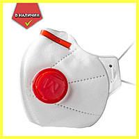 """Респиратор """"Микрон"""" класса FFP3 c клапаном / Защитная маска, фото 1"""