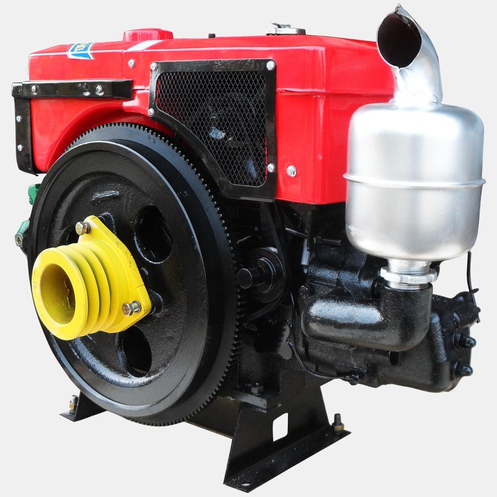 Двигатель дизельный Кентавр ДД1110ВЭ с водяным охлаждением (20 л.с.) с электростартером для минитракторов