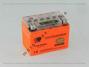 АКБ 4А GEL оранжевый OUTDO с индикатором (кнопка)