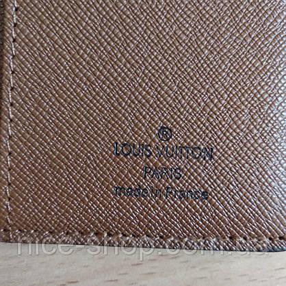 Кошелек-книжка Louis Vuitton кожаный, фото 3