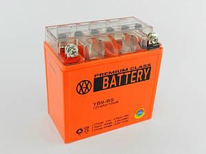 АКБ 9А (135*75*135) GEL оранжевый BATTERY (высокий)