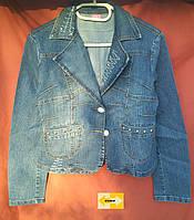 Женский джинсовый пиджак, куртка