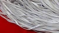 Резинка  плоская 5 мм  п/эфирная  белая (100 м)