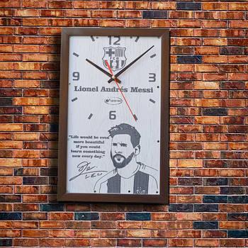 """Настенные часы """"Lionel Messi"""" индивидуальная работа"""