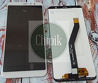 Дисплей для Meizu M6T, M811 с сенсорным экраном, белый