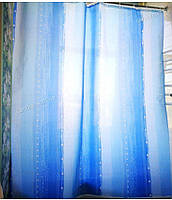 """Штора в ванную текстиль точный размер 180x200 см """"Дождь"""", фото 1"""