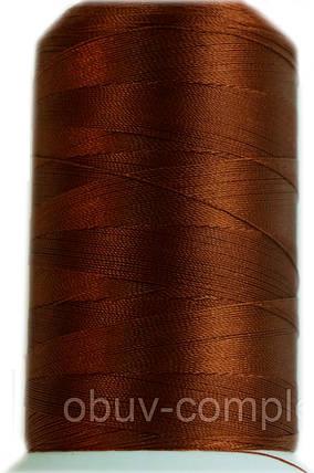 Нить №60 (1000 м.) «Титан» колір 2530 коричневий, фото 2