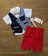 Летний костюм для мальчика нарядный турецкий,детская одежда Турция,интернет магазин,коттон,джинс