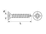Саморіз GIFF  - 1000шт, фото 2