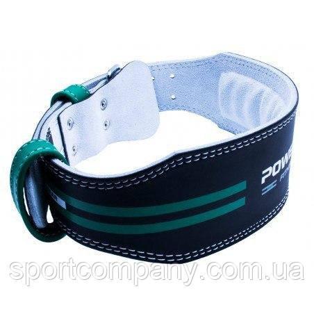 Пояс для тяжелой атлетики Power System Dedication PS-3260 Black/Green L