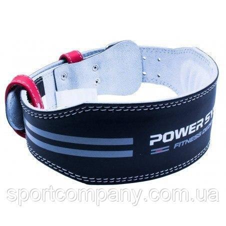 Пояс для тяжелой атлетики Power System Dedication PS-3260 Black/Red M
