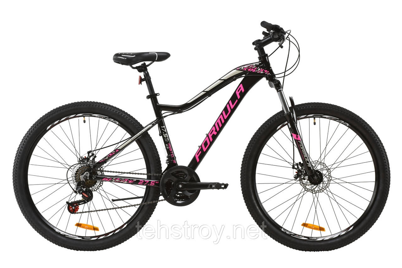 """Велосипед AL 27.5"""" Formula MYSTIQUE 2.0 AM DD 2020 (рубиновый с зеленым и белым)"""