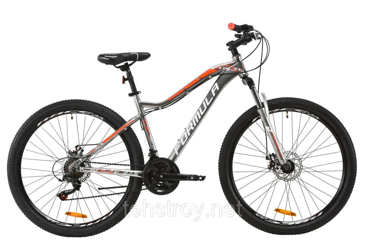 """Велосипед AL 27.5"""" Formula MYSTIQUE 1.0 AM DD 2020 (перламутрово-голубой с розовым)"""