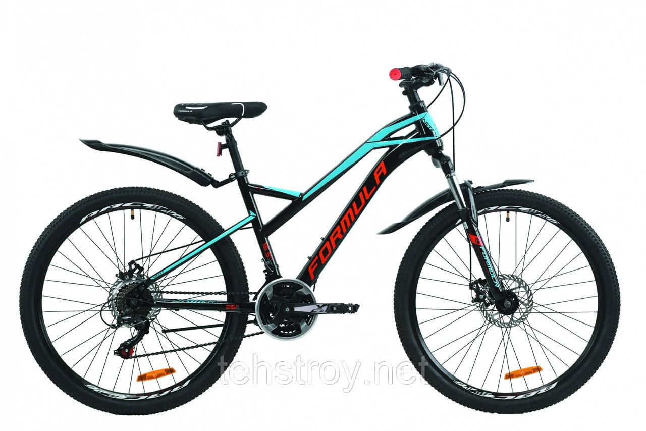 """Велосипед 26"""" Formula DRIFT 2020 (серо-зеленый (м))"""