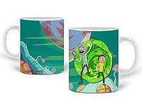 Кружка Рик и Морти (Rick and Morty) 330 мл Чашка Керамическая (20259-1240), фото 1