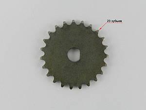 Звезда маслонасоса 4т GY6-125/150сс, (23 зуба) металлическая