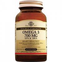 Омега-3 700 мг ЭПК и ДГП-    (30капс.,Солгар,США)