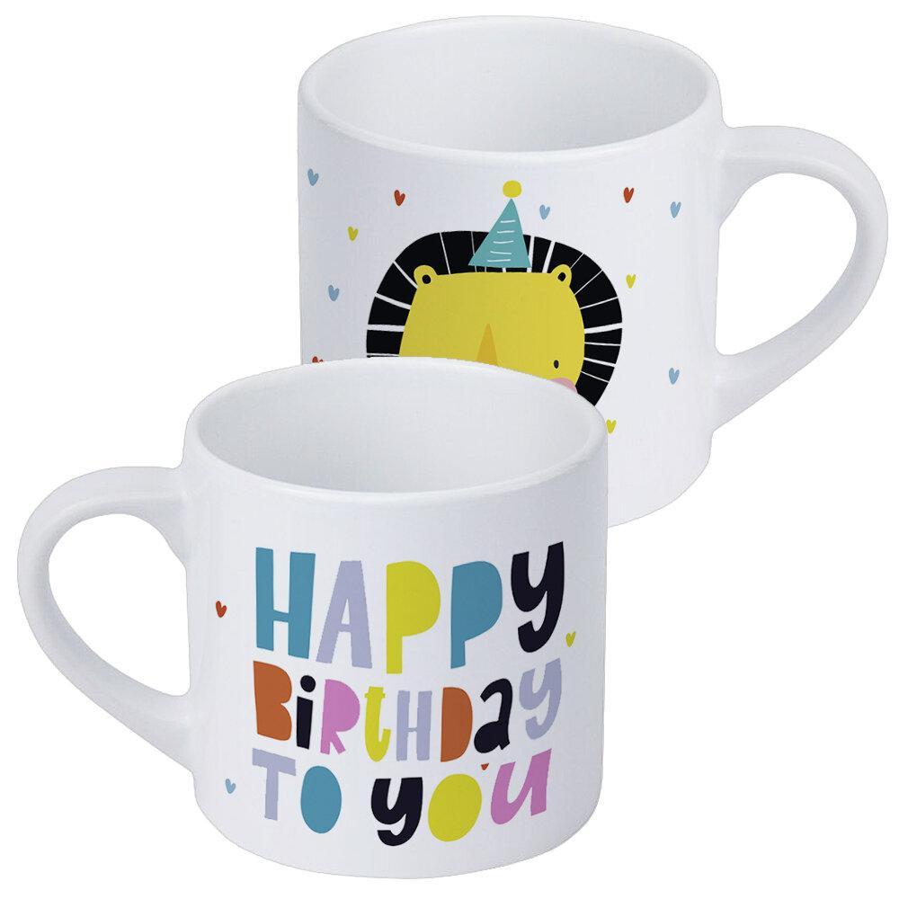 Кружка детская Happy birthday to you 170 мл (KRD_20M061)