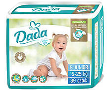 Памперсы подгузники Дада Extra Soft Dada 5 JUNIOR 39 шт. 15-25 кг